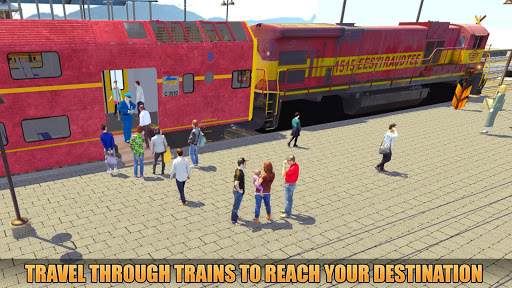 Indian Train Racing Simulator Pro: Train game 2019 image | 10