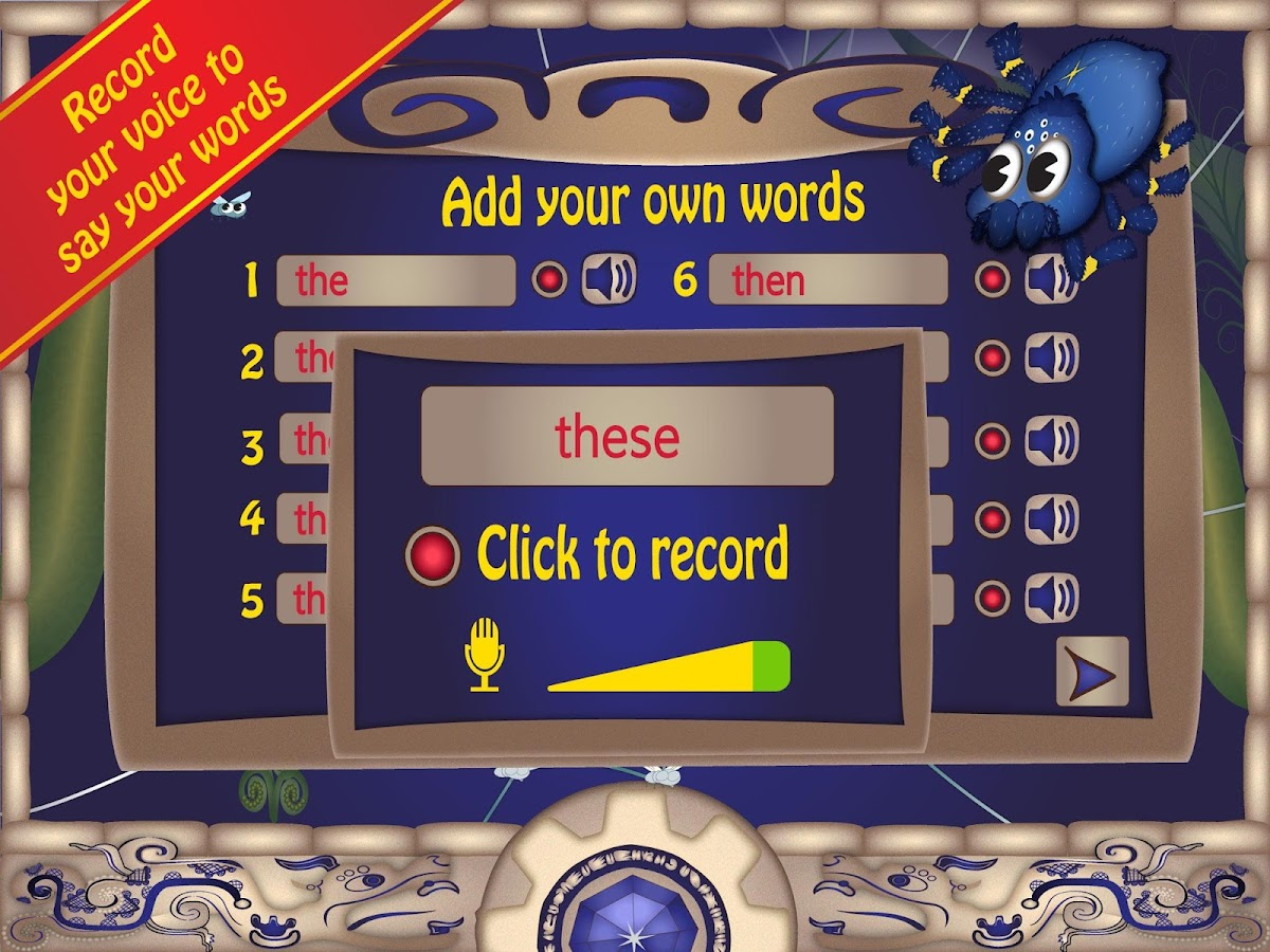 Sight Words : Phonics Bug Lite- screenshot