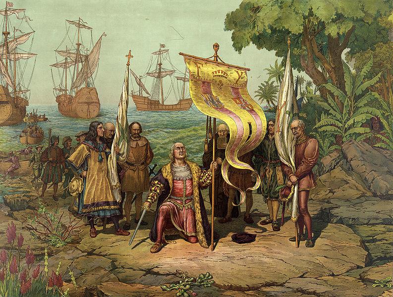 Прибытие Колумба в Америку