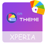 Theme XPERIA ON™ | Be Purple - 🎨Design For SONY 3.0.0