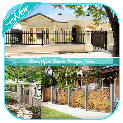 Beautiful Fence Design Idea