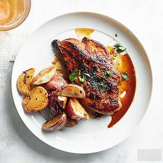 Sweet Hot Coriander Chicken.