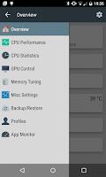 Screenshot of Aero Kernel Control