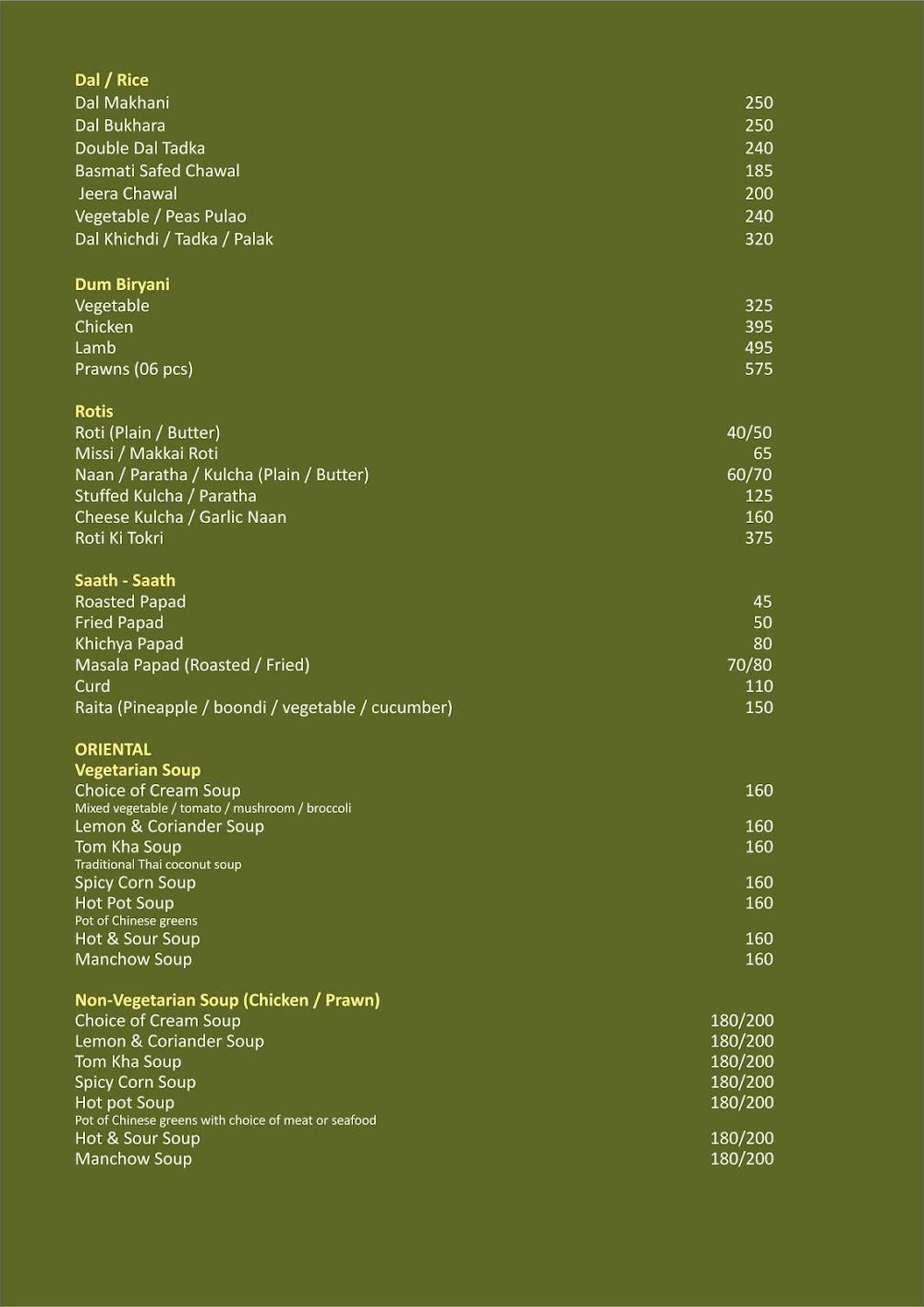 Olivia- GCC Hotel & Club menu 4