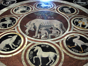 Photo: Floor of the cathedral.