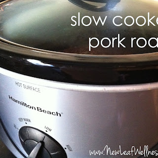 Slow Cooker Pork Roast – Three Ways