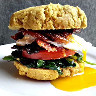 Paleo Breakfast Biscuit Sandwich