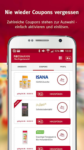 Rossmann - Coupons Angebote