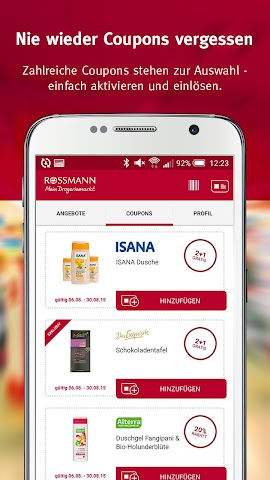 android Rossmann - Coupons & Angebote Screenshot 0