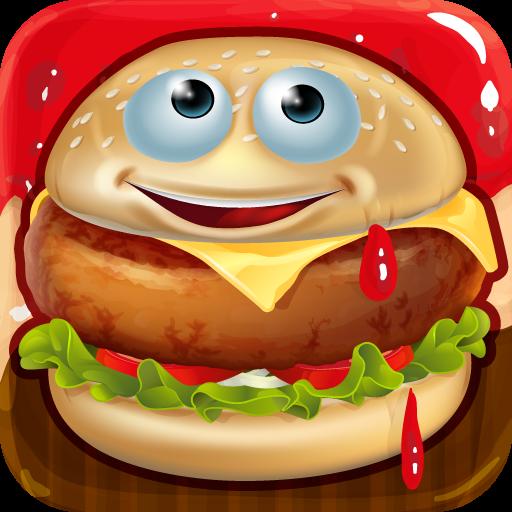 汉堡制造商 - 烹饪疯狂 休閒 App LOGO-硬是要APP