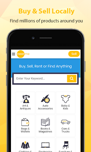 nearme u2013 Buy and Sell locally Apk 1