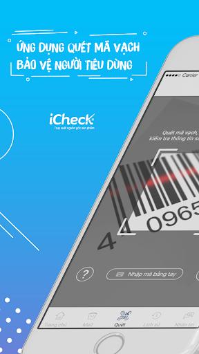 iCheck – TRUY XUẤT NGUỒN GỐC SẢN PHẨM 5.10.1 screenshots n 1