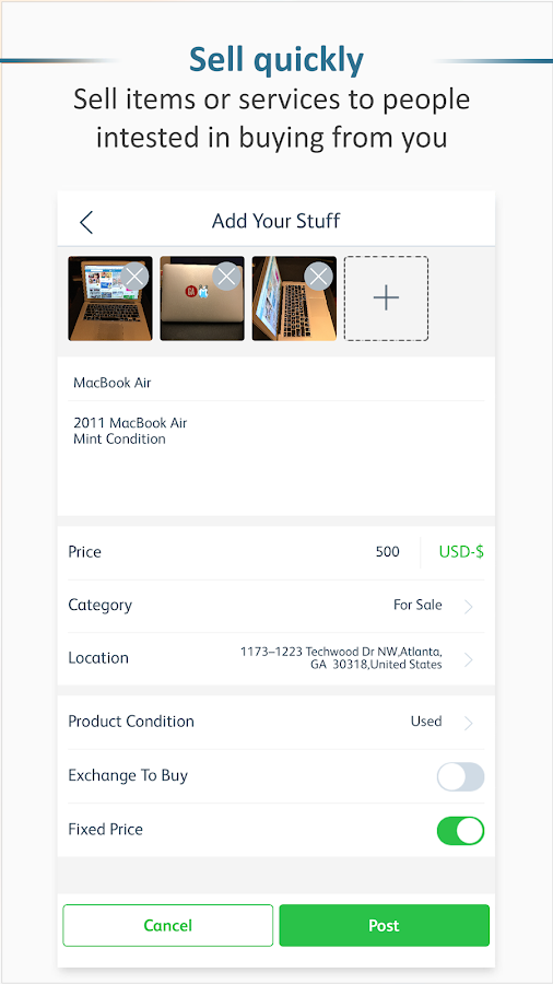 Spendwith - Buy & Sell, by Culture- screenshot