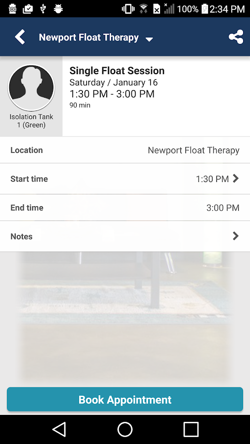 Newport Float Therapy- screenshot
