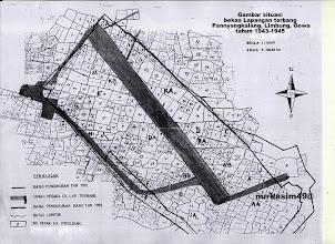 Photo: Bekas lapangan terbang Panyangkalang, Limbung yang dibangun Tentara Kekaisaran Jepang tahun1943. http://nurkasim49.blogspot.com/2011/12/iv.html
