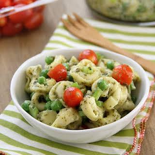 Pesto Tortellini Salad.