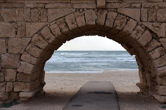 Photo: Herodian Aqueduct, Caesarea