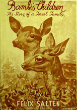 Photo: Bambi's Children.  Felix Salten (author), Grosset & Dunlap, 1939.