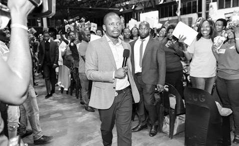 Shepherd Bushiri during a church service on 11 February 2019.