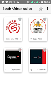 South African top radios - náhled