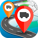 Mobile GPS vehicle fleet tracking A-TMS icon