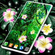 Jungle Live Wallpaper \ud83c\udf34 Palm Forest Themes