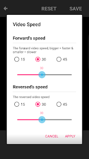 Boomerate Video reverse & loop Screenshot