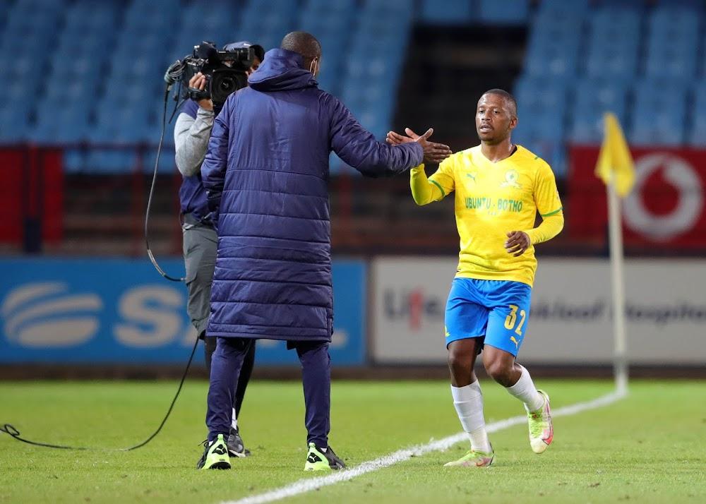 Mokwena hails Kutumela after striker scores first goal for Sundowns