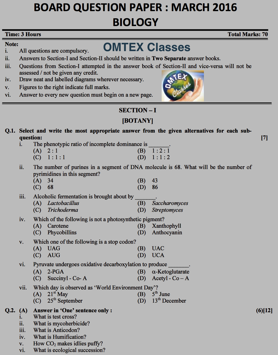 OMTEX hsc-2016-march-biology PAGE NO. 1.png