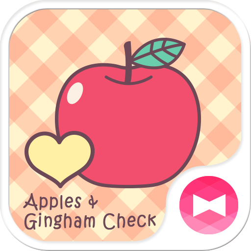 Apples & Gingham Check +HOME 遊戲 App LOGO-硬是要APP