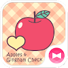 Apples & Gingham Check Theme