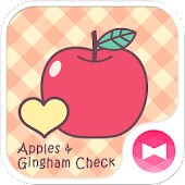 Apples & Gingham Check Theme