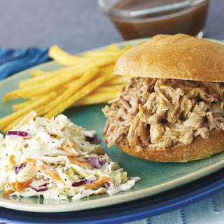 Memphis-Style Pulled Pork with Old-Fashioned Coleslaw.
