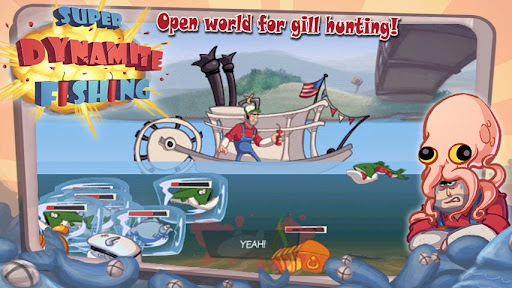 Super Dynamite Fishing FREE screenshot 2