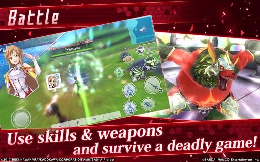 Sword Art Online: Integral Factor 1.5.1 screenshots 7