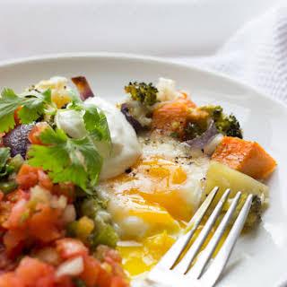Egg and Veggie Loaded Weekend Casserole.