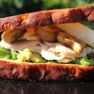 Easy Chicken, Mushroom, and Avocado Sandwich on Skillet-Toasted Bread – A Gluten-Free.