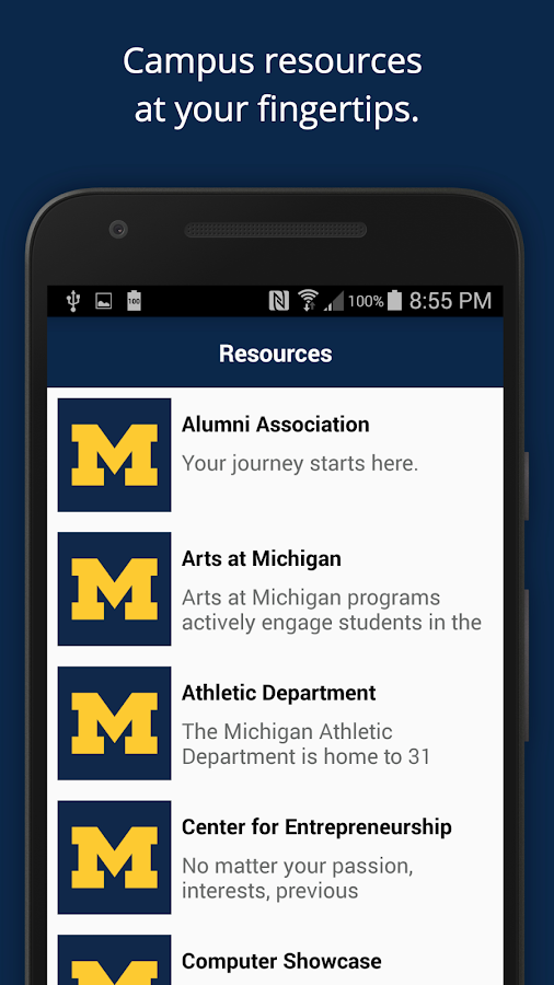 U-M Orientation- screenshot