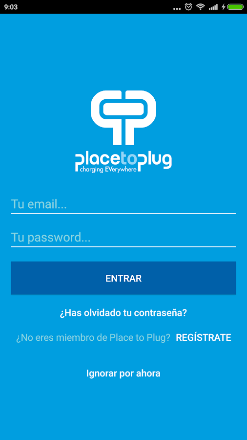 Place to Plug- screenshot