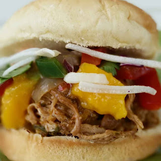 Mango Salsa Pulled Pork