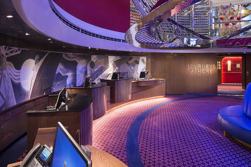 koningsdam-Journeys-Ashore.jpg -  Head to the Journeys Ashore desk on Koningsdam to arrange shore excursions on your cruise.