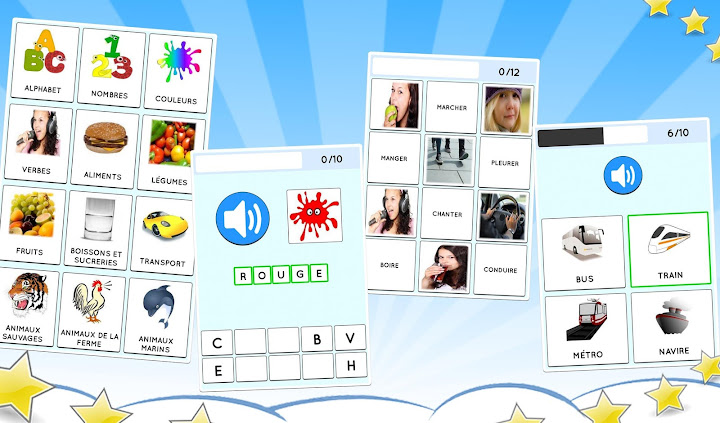 Learn French free for beginners: kids & adults Android App Screenshot
