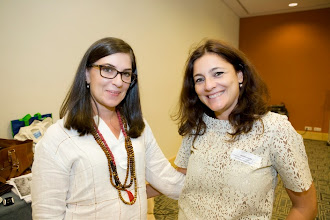 Photo: Ana Isabel Curado (left) and Sandra Ribeiro (right) from the Portuguese Commission for Equality in Labour and Employment (our member equality body and training partner organisation) - thank you for all your help!  Equinet's Gender Equality Training Event on Equal Pay (18-19 September - Lisbon, Portugal)  http://goo.gl/GiAWK5  © Equinet 2013