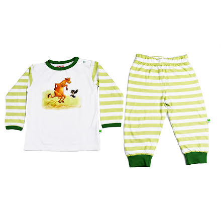 Sture & Lisa Mamma Mu Pyjamas Set Green