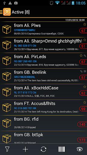 TrackChecker Mobile 2.25.8 screenshots 2