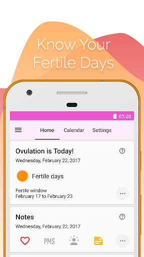 Period and Ovulation Tracker screenshot 5