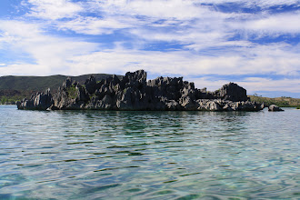 Photo: Cool rock formations, Sawa I Lau