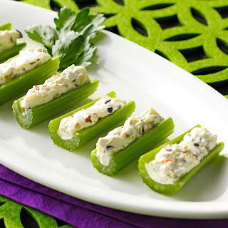 Olive-Stuffed Celery.