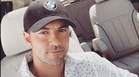 Verano en familia: David Bisbal ya está en Almería