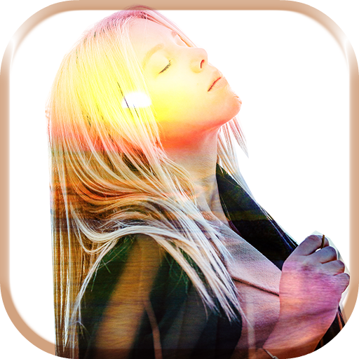 Sunset Overlay Pictures App Icon